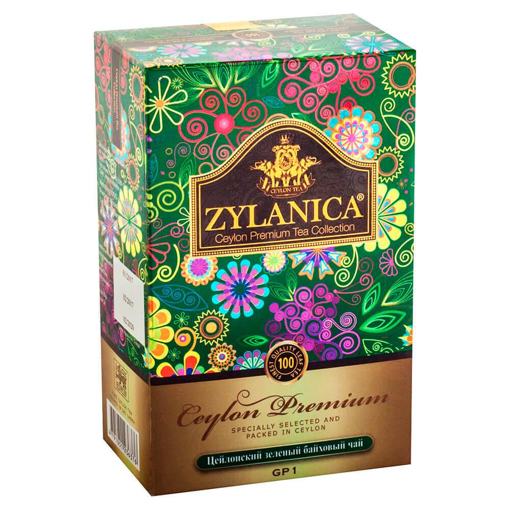 Чай зеленый Zylanica Premium 100г