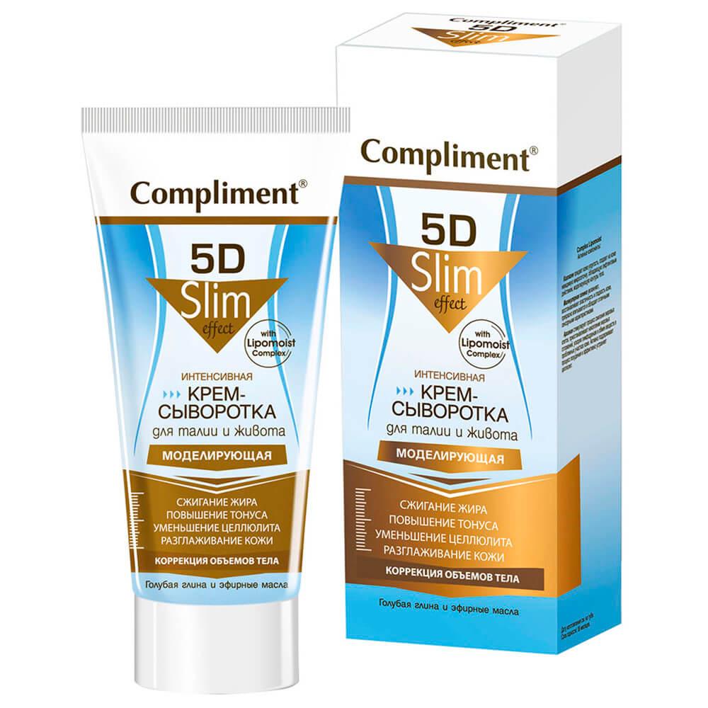 Крем-сыворотка Compliment 200мл для талии и живота моделирующая