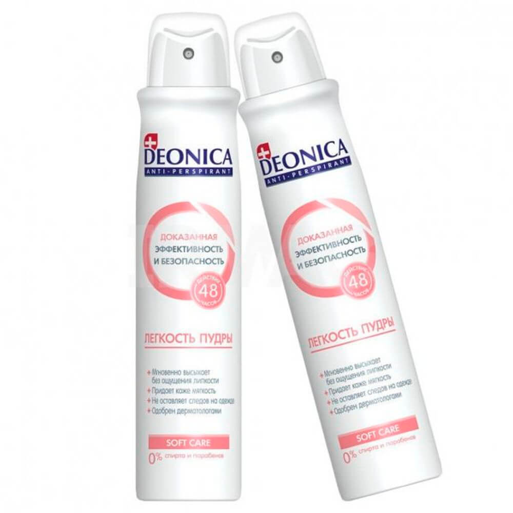 Дезодорант Deonica 200мл спрей легкость пудры