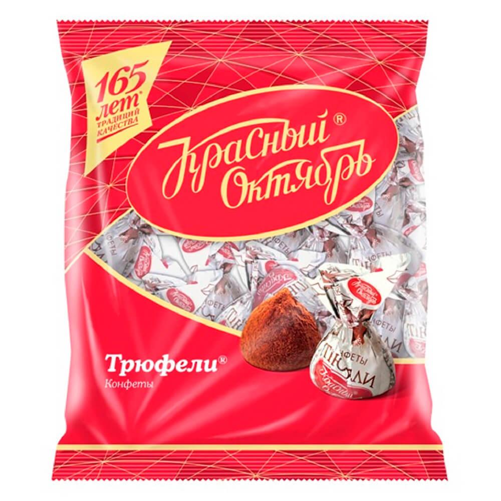 Конфеты трюфели 200г Красный Октябрь