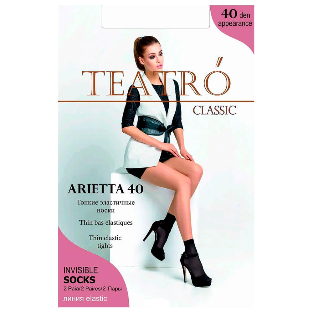 Носки женские Teatro 40ден 2 пары ариетта неро