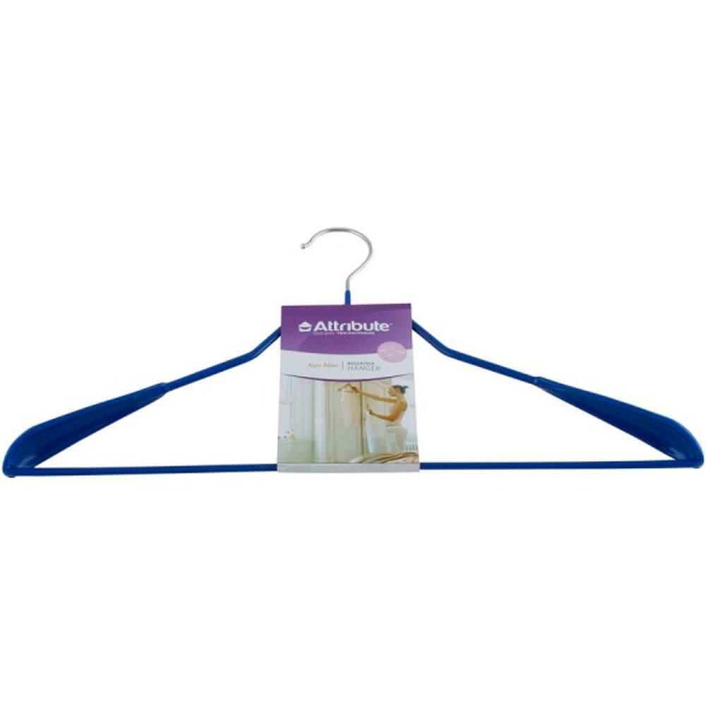 Вешалка для верхней одежды Neo Blue 45см металл ahs711 вешалка attribute eva black 45см для верхней одежды металл поролон