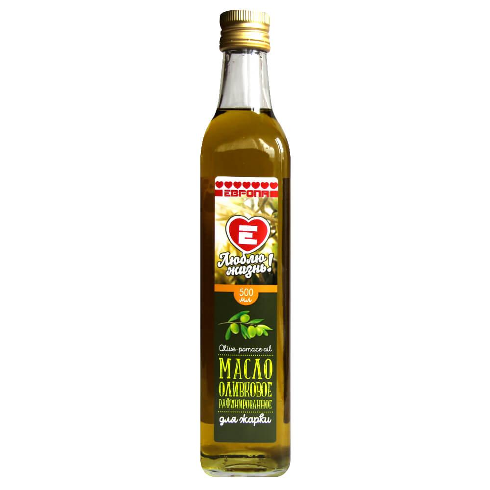 Масло оливковое Люблю Жизнь для жарки 500мл