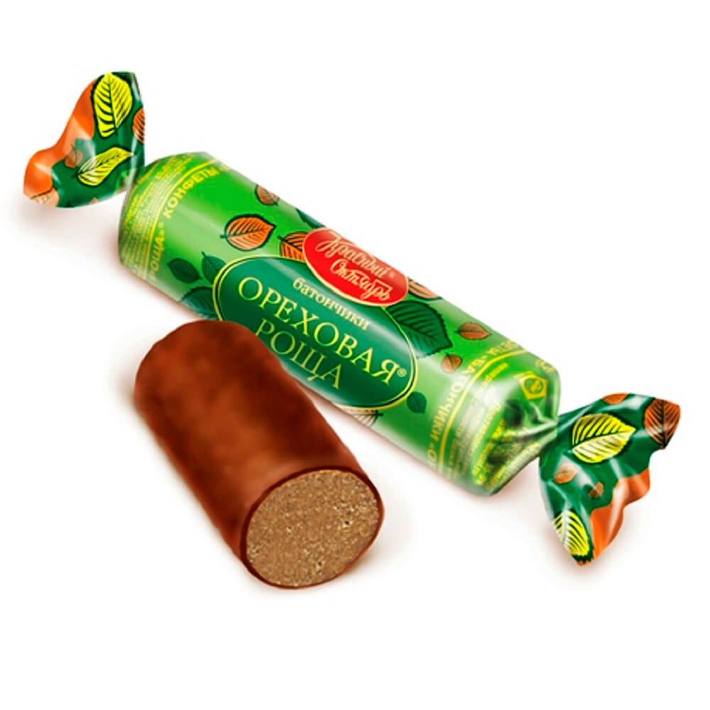 Конфеты батончики ореховая роща Красный Октябрь