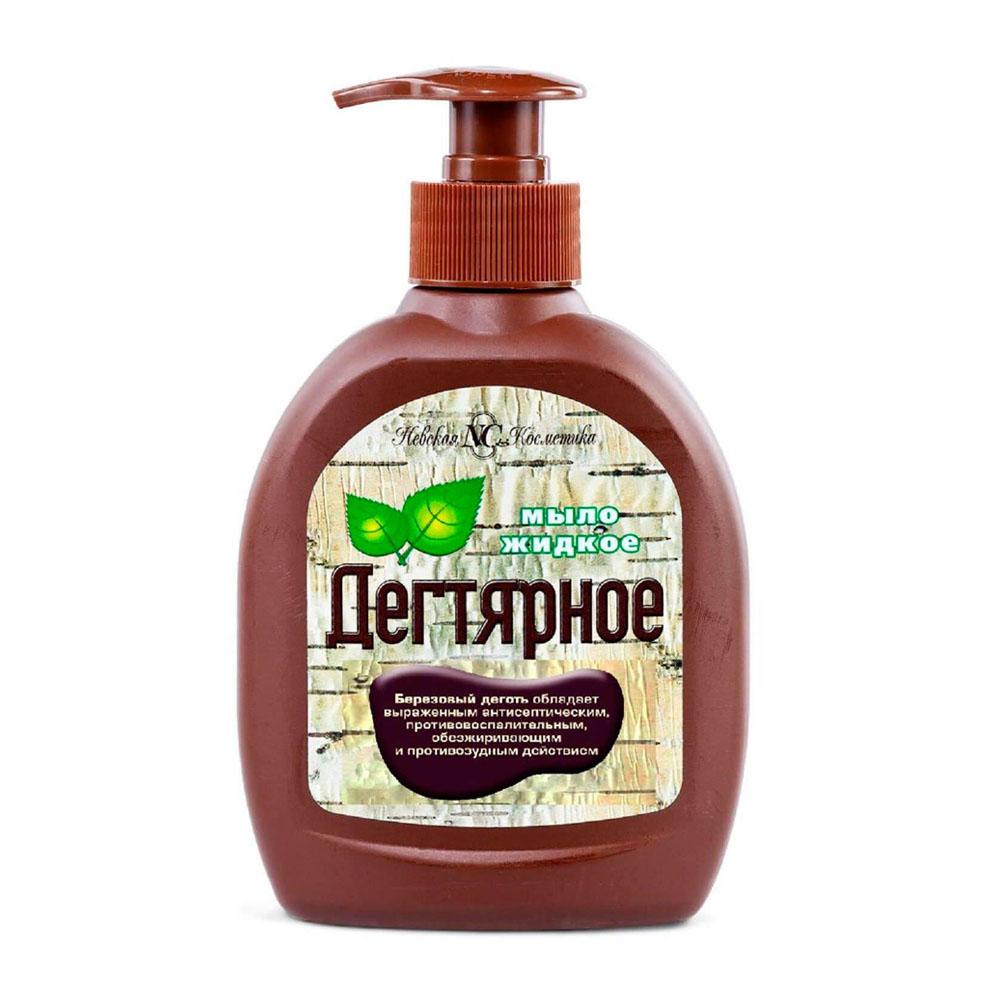 Жидкое мыло дегтярное 300мл Невская Косметика