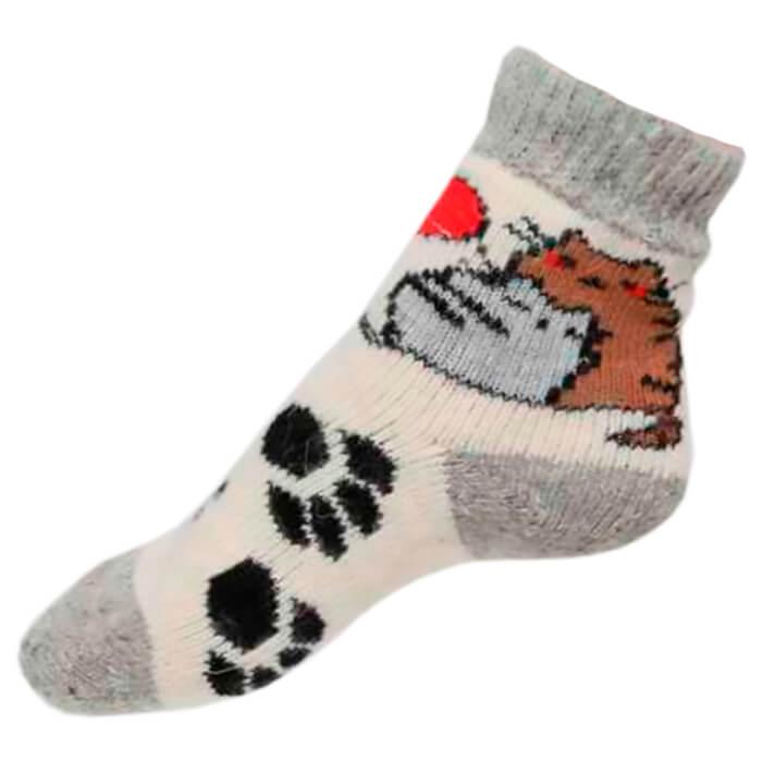 Носки детские из овечьей шерсти р-р 16-18 носки из шерсти высокие колючие носки из шерсти wsc601