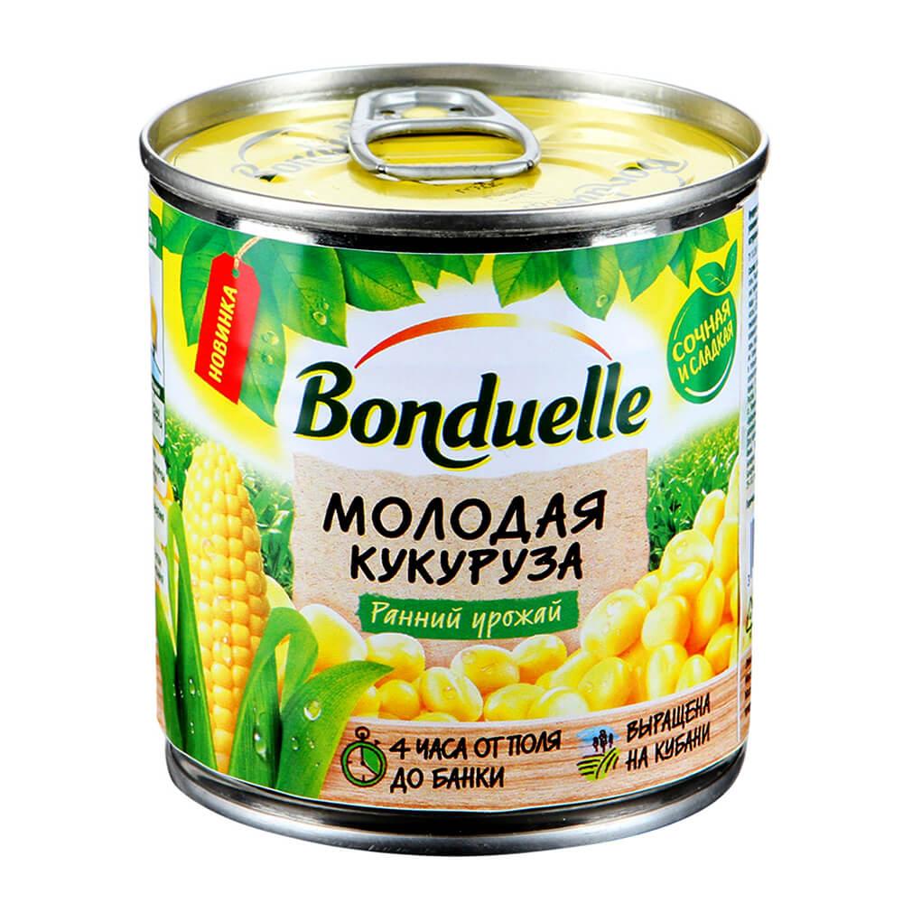 Кукуруза Bonduelle молодая 212г ж/б