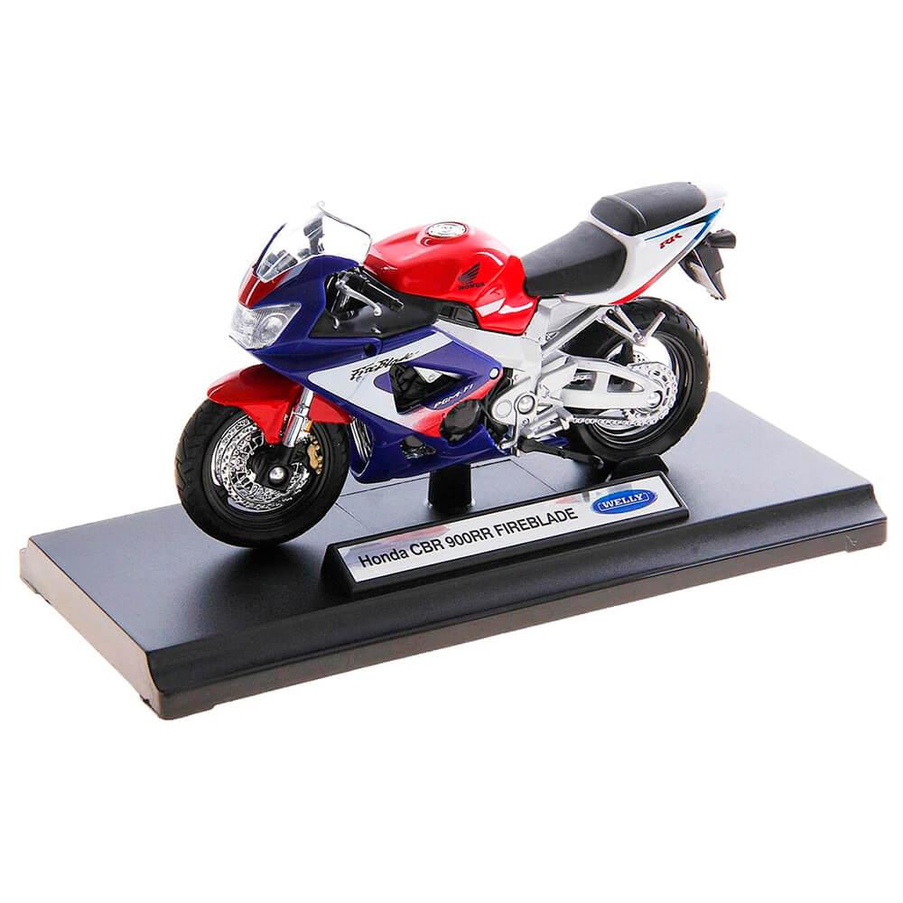 Мотоцикл Welly 1:18 Honda cbр900рр 12164p