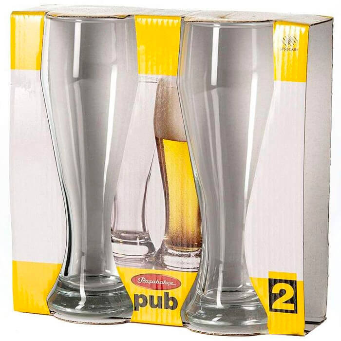 Набор бокалов для пива 500мл 2шт Pasabahce паб набор кружек для пива гамбург 2шт 500мл стекло