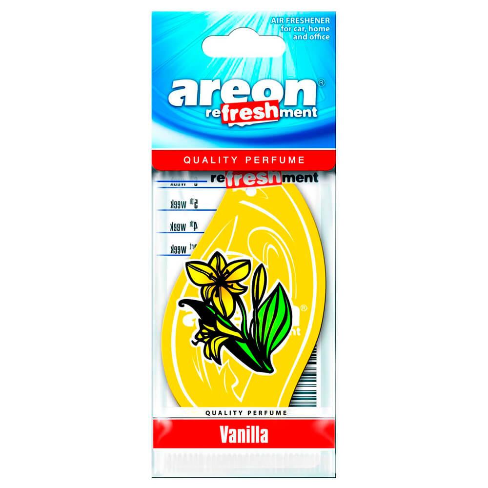 Ароматизатор Areon картонный аэрлайн ваниль