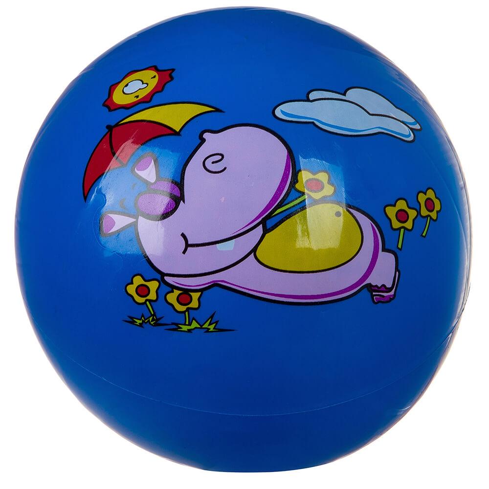 Мяч детский ван той 22см бегемот загорает т76605 мяч гратвест бегемот загорает c20408 22 см синий