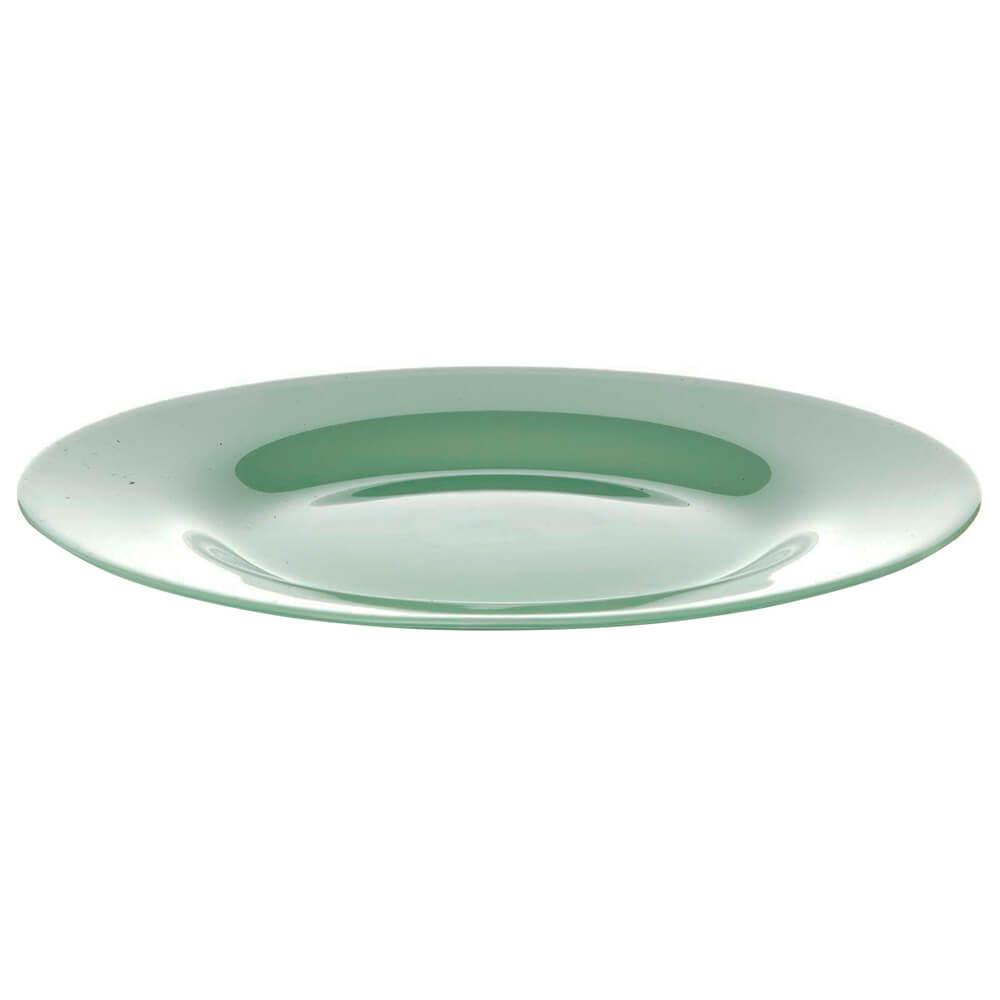 Тарелка подстановочная 26см Pasabahce бохо зеленая psb 10328убсл1