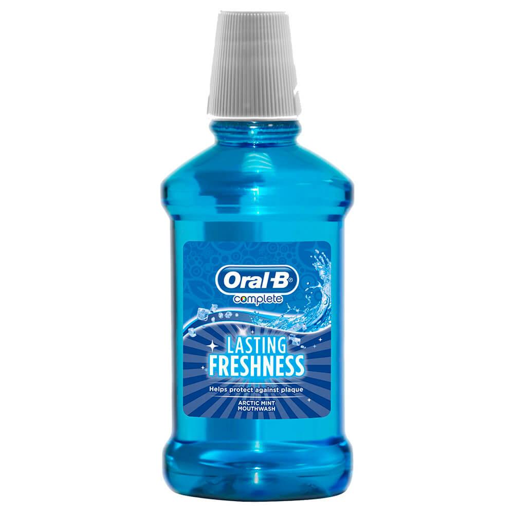 Ополаскиватель для полости рта Oral-B 250мл комплекс арктическая свежесть