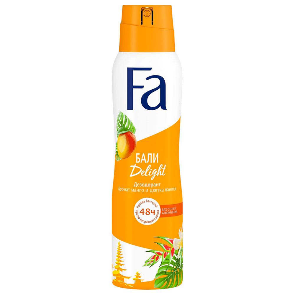 Дезодорант Fa 150мл спрей аромат манго и цветка ванили