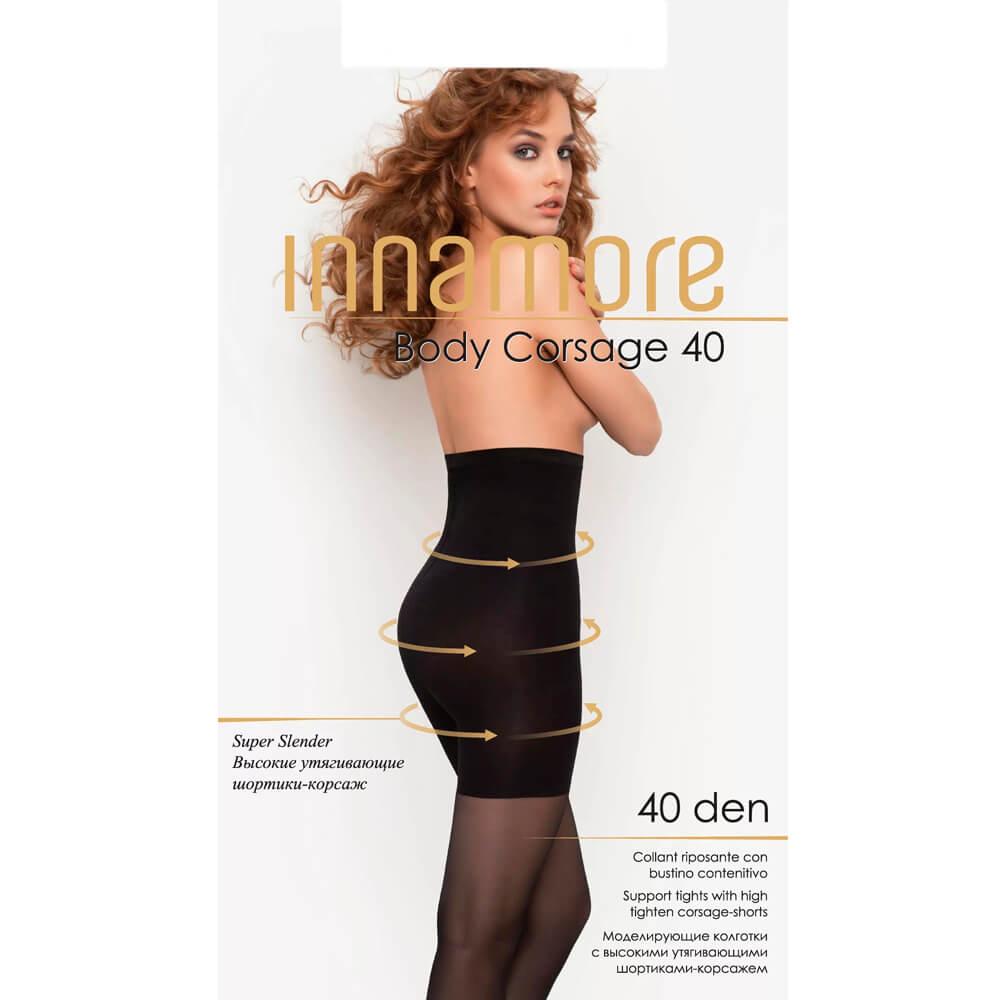 Колготки женские Innamore Body корсаж 40 ден дайно р. 4