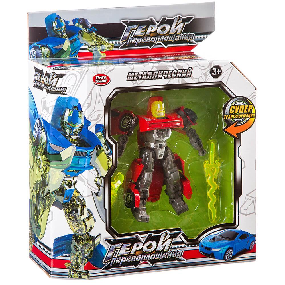 Робот Play Smart трансформер-машина герой перевоплощения 8175 л87599