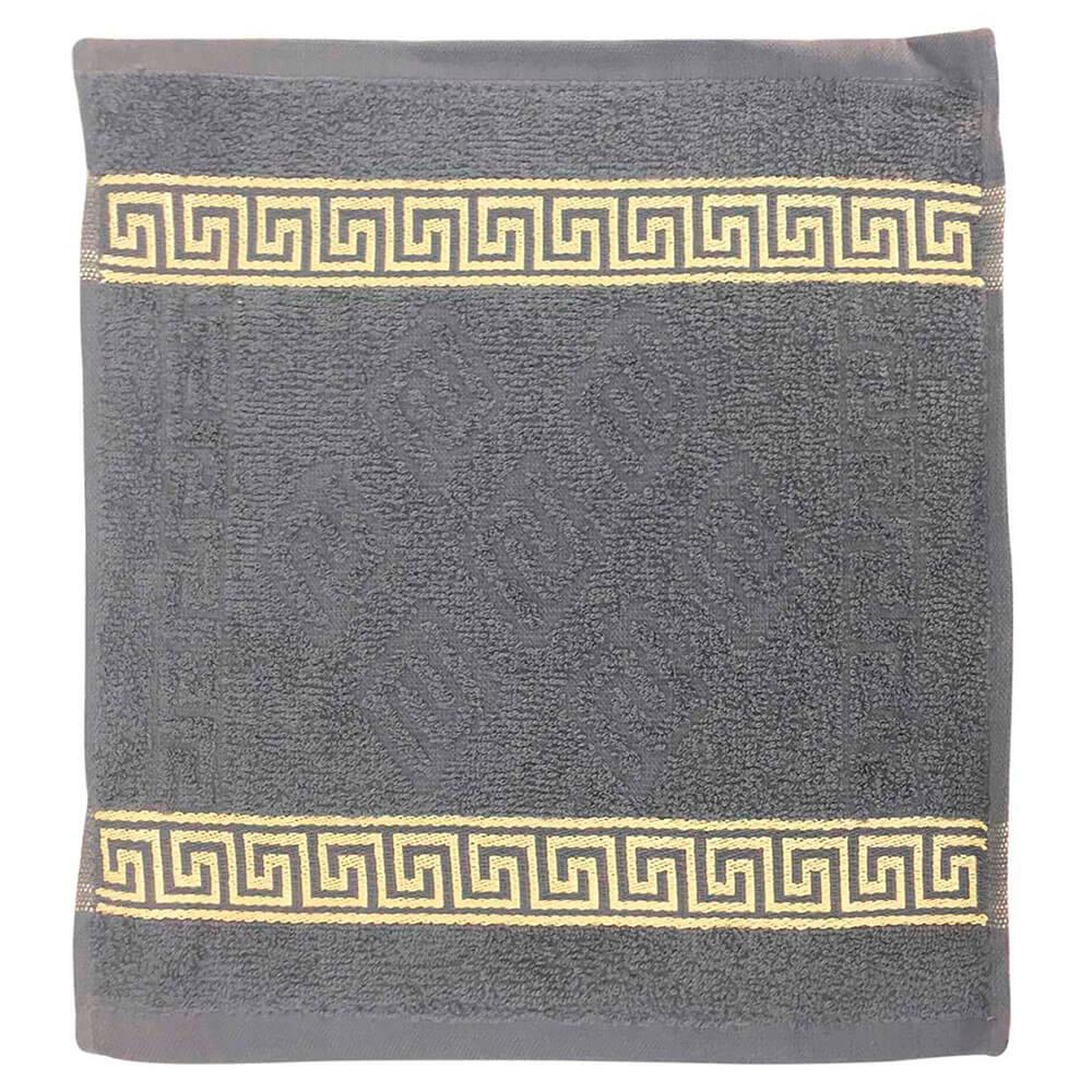Полотенце Грета 30*30см серый