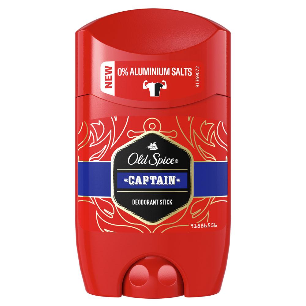 Дезодорант Old Spice 50мл стик капитан
