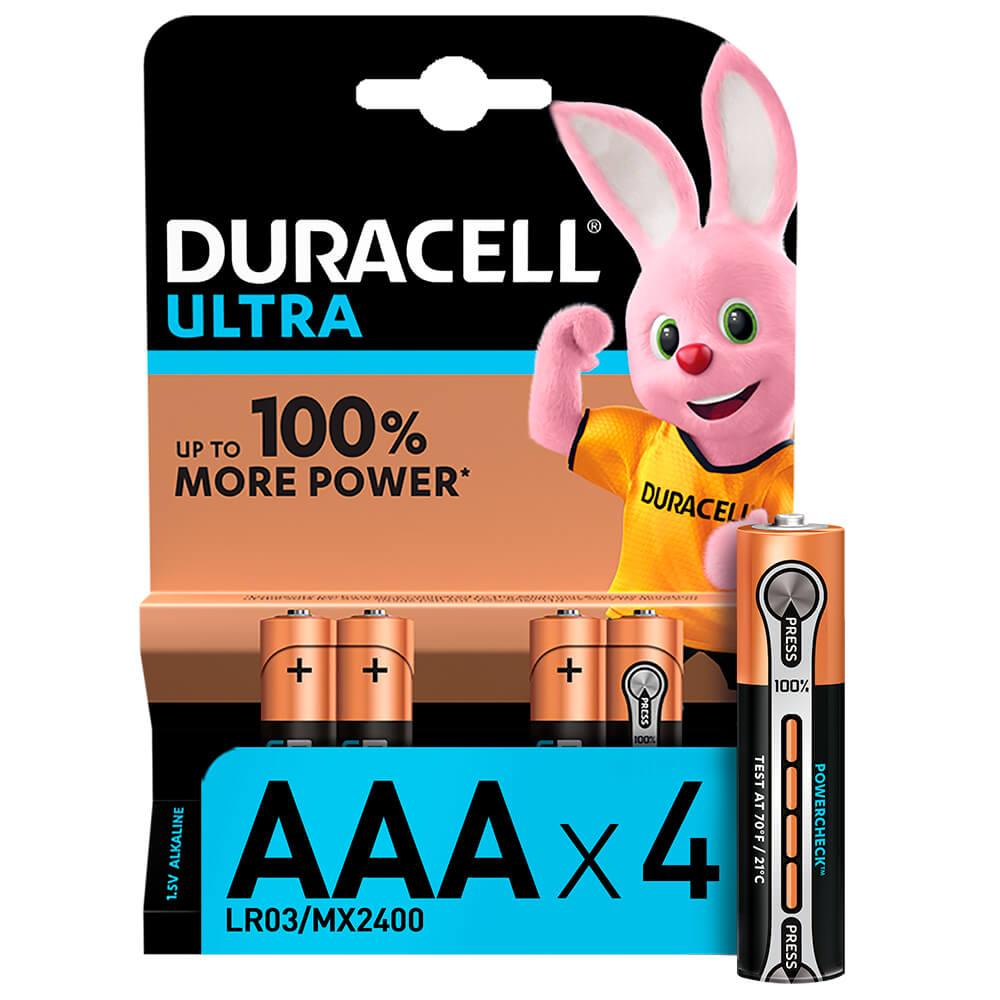 Батарейка Duracell Ultra Power AAA 4bl недорого