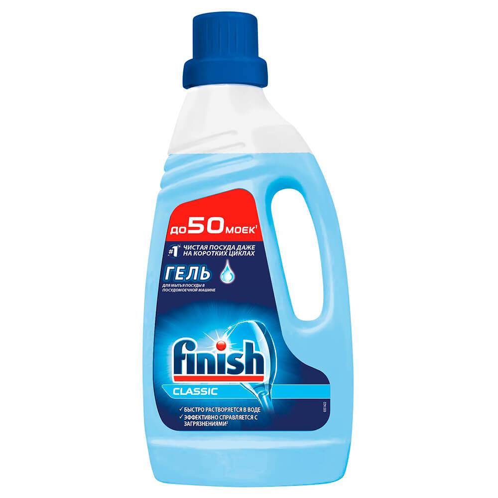 Фото - Гель для посудомоечных машин 1л Finish Classic средство для мытья посуды ecosoda 1л бальзам быстросмываемый