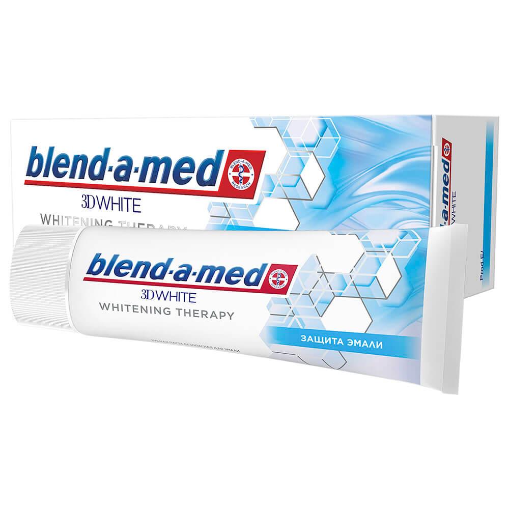Зубная паста Blend-a-Med 75мл 3д вайт защита эмали