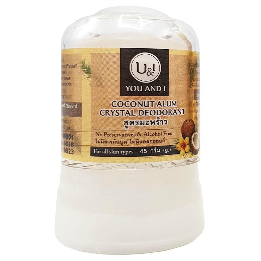Дезодорант кристаллический 45г кокосовый