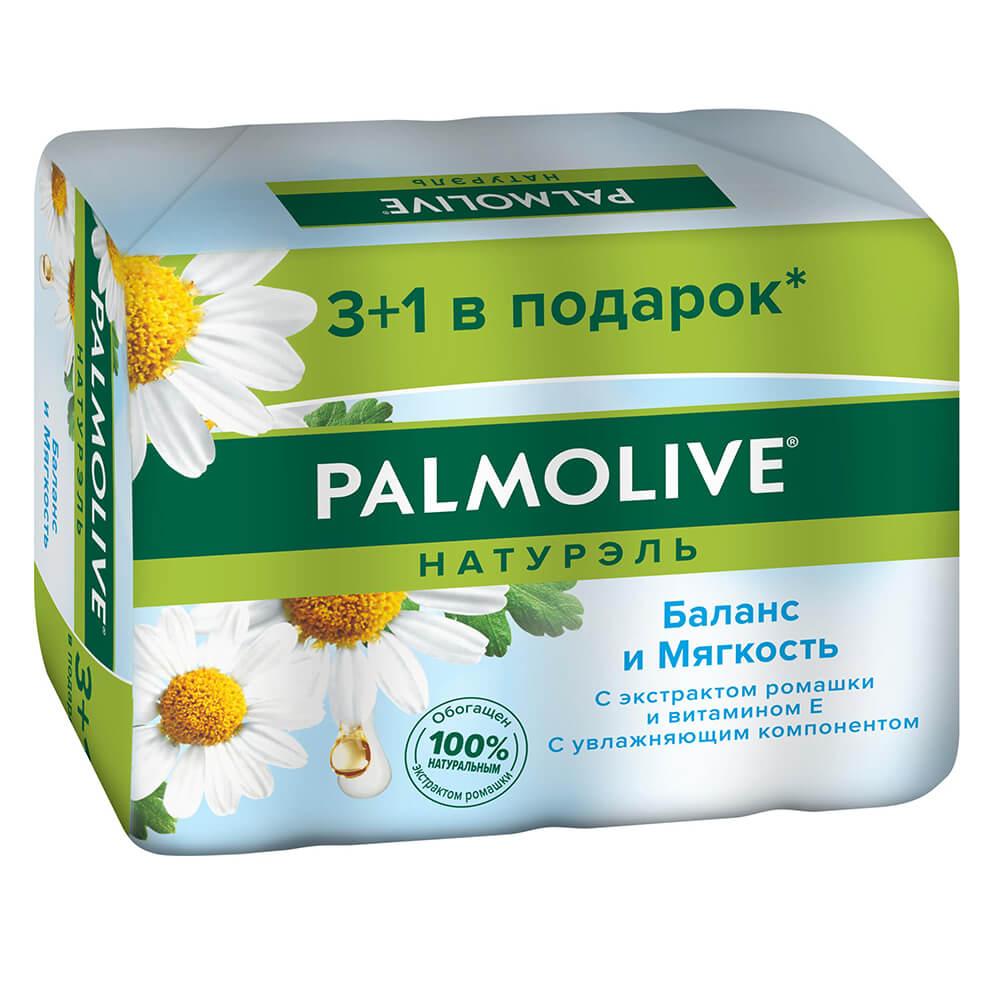 Фото - Мыло Palmolive 4*90г баланс и мягкость мыло palmolive баланс и мягкость ромашка и витамин е 4 шт 90 г