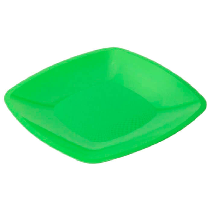 Тарелка Квадратная 30см 3шт Buffet салатовая