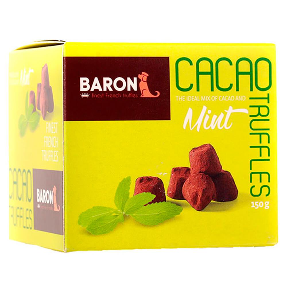 ремень baron baron mp002xm23u6n Конфеты французские трюфели Baron 150г с кристаллами мяты