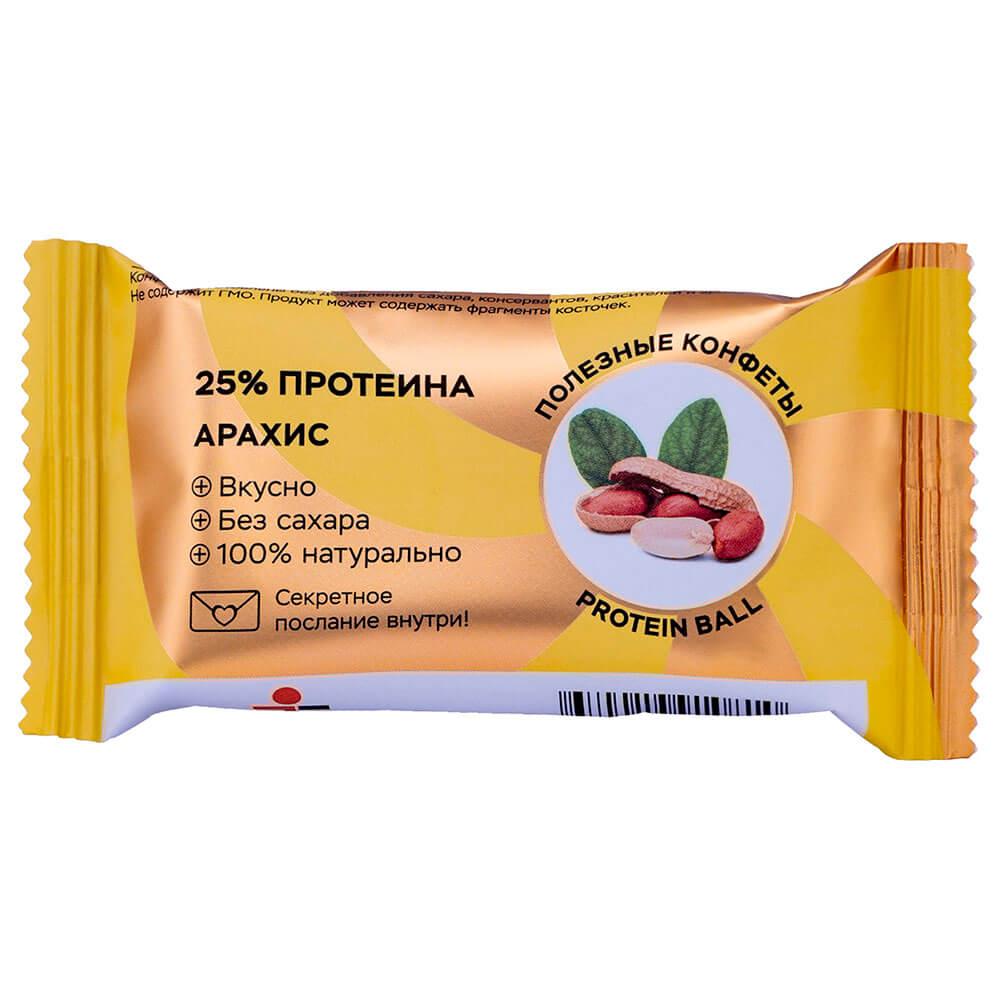Фото - Конфеты Jump премиум протеин 28 г арахис протеин