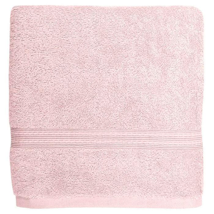 Полотенце банное 70*140 Bonita Classic махровое бело-лиловое bonita полотенце classic банное 50х90 см медовый