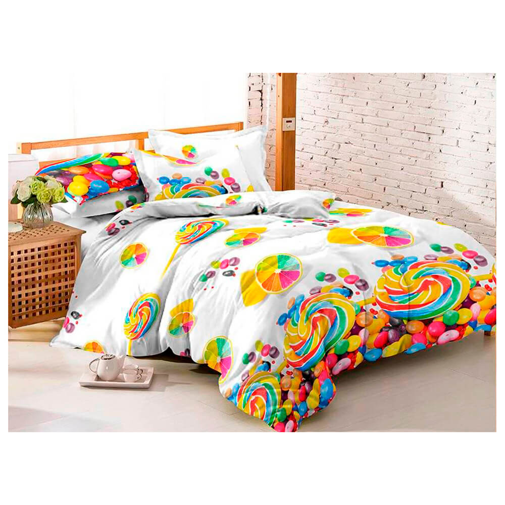 Комплект постельного белья макосатин печатный Amore Mio 1,5 сп арт 11997 комплект постельного белья двуспальный евро amore mio arthur кофейный
