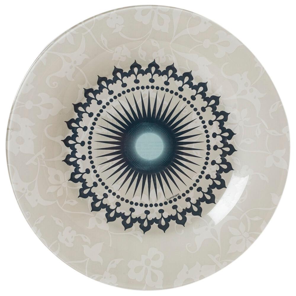Тарелка обеденная 25см Luminarc луньер p0074