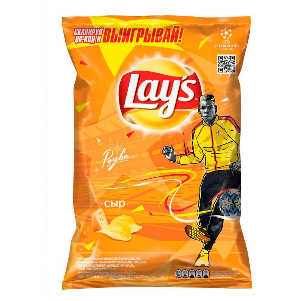 Фото - Чипсы Lays 90г сыр чипсы lays вкус васаби и авокадо 90г