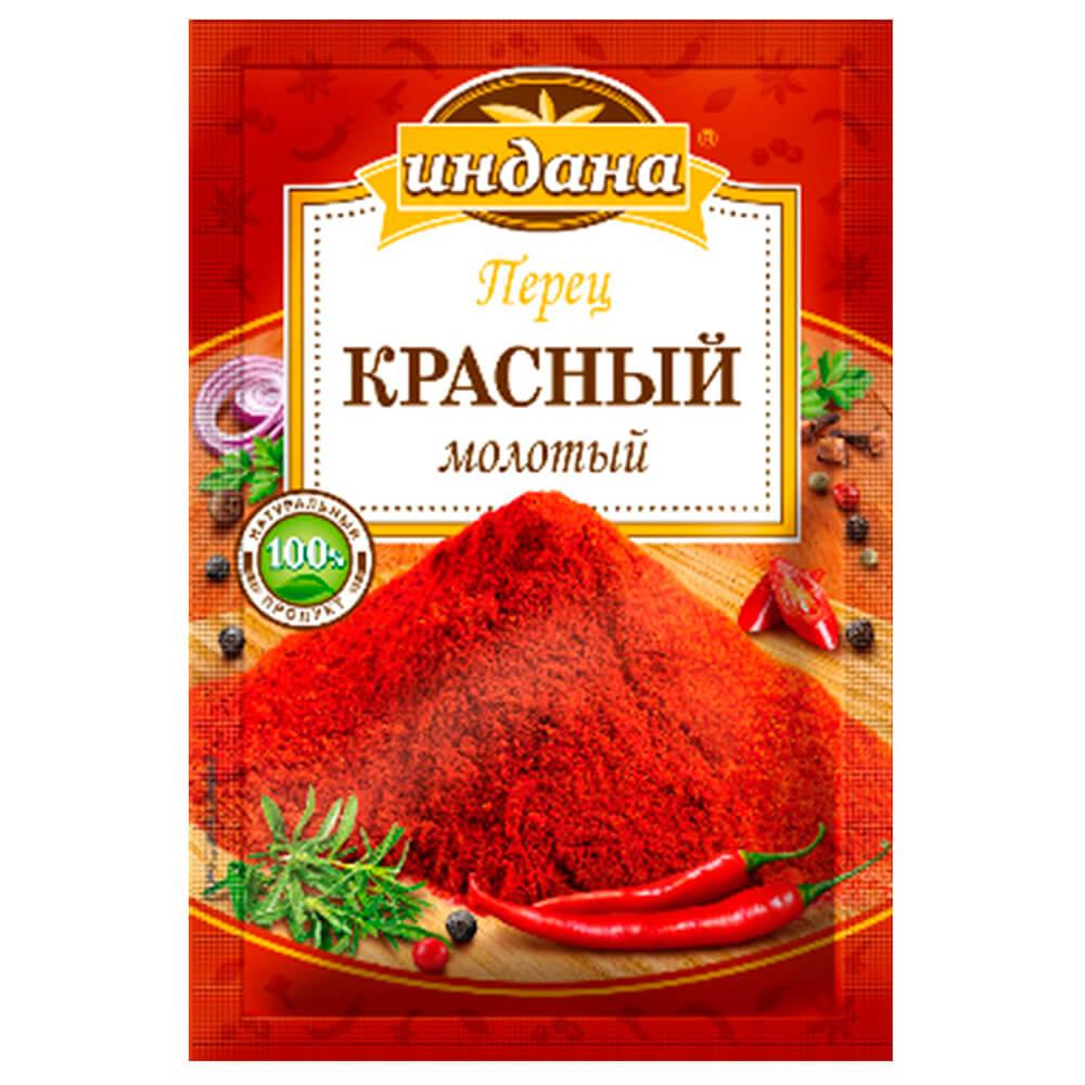 Перец красный Индана 15г молотый перец чили красный молотый trs 100 г