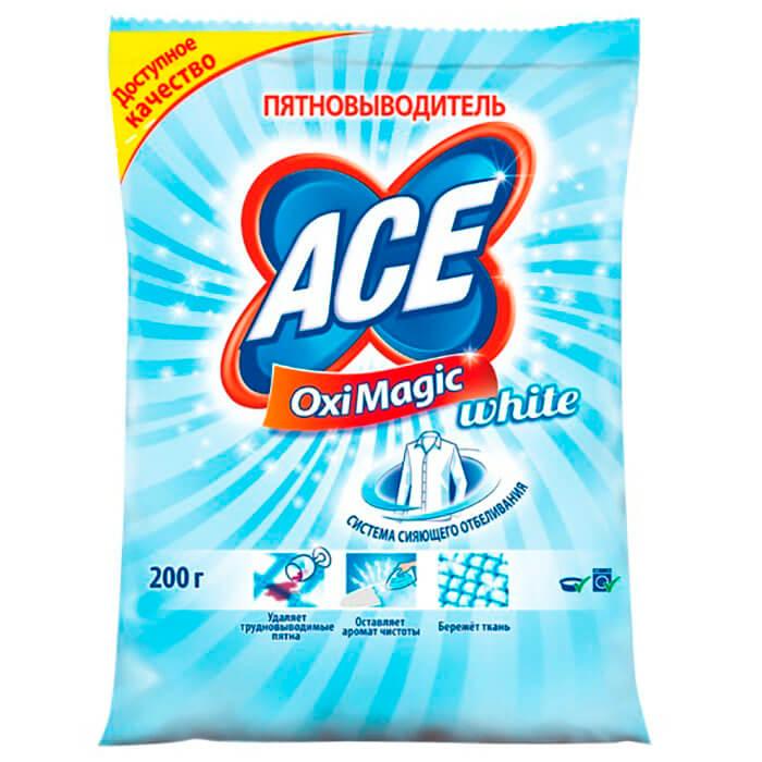 Пятновыводитель ACE 200г оксимэджик уайт