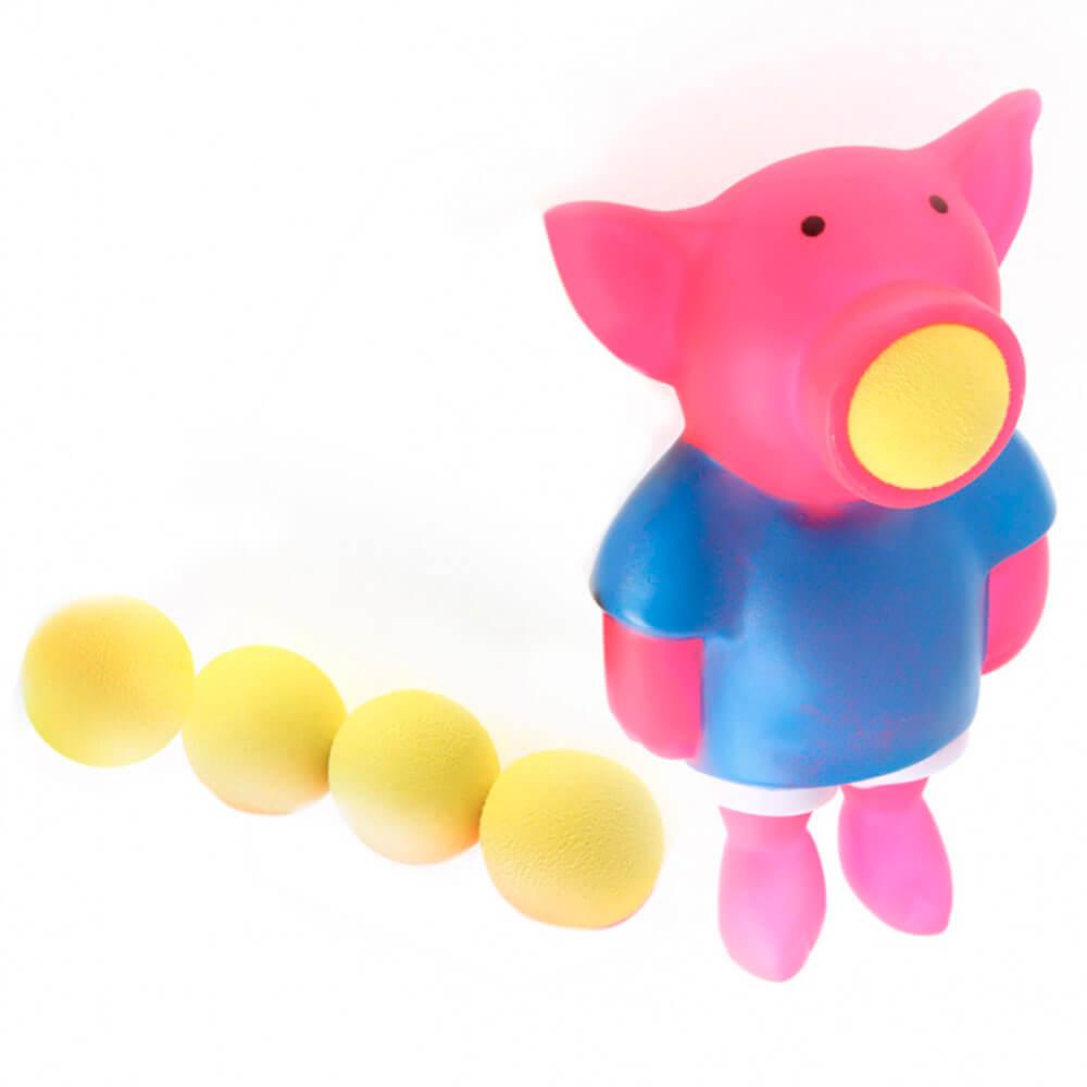 Игрушка развивающая Bradex стреляющий зверь поросёнок de 0328
