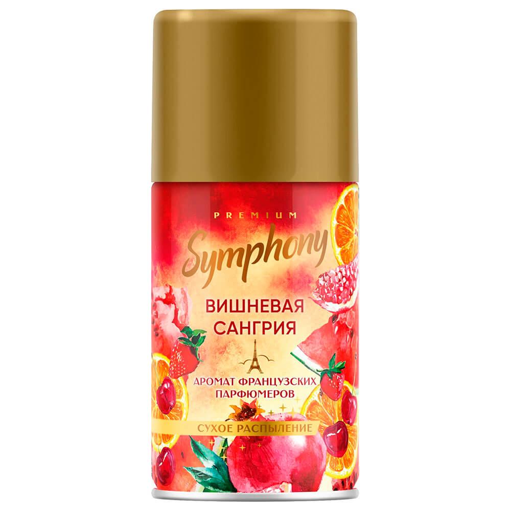 Освежитель воздуха Symphony 250мл сменный баллон вишневая сангрия