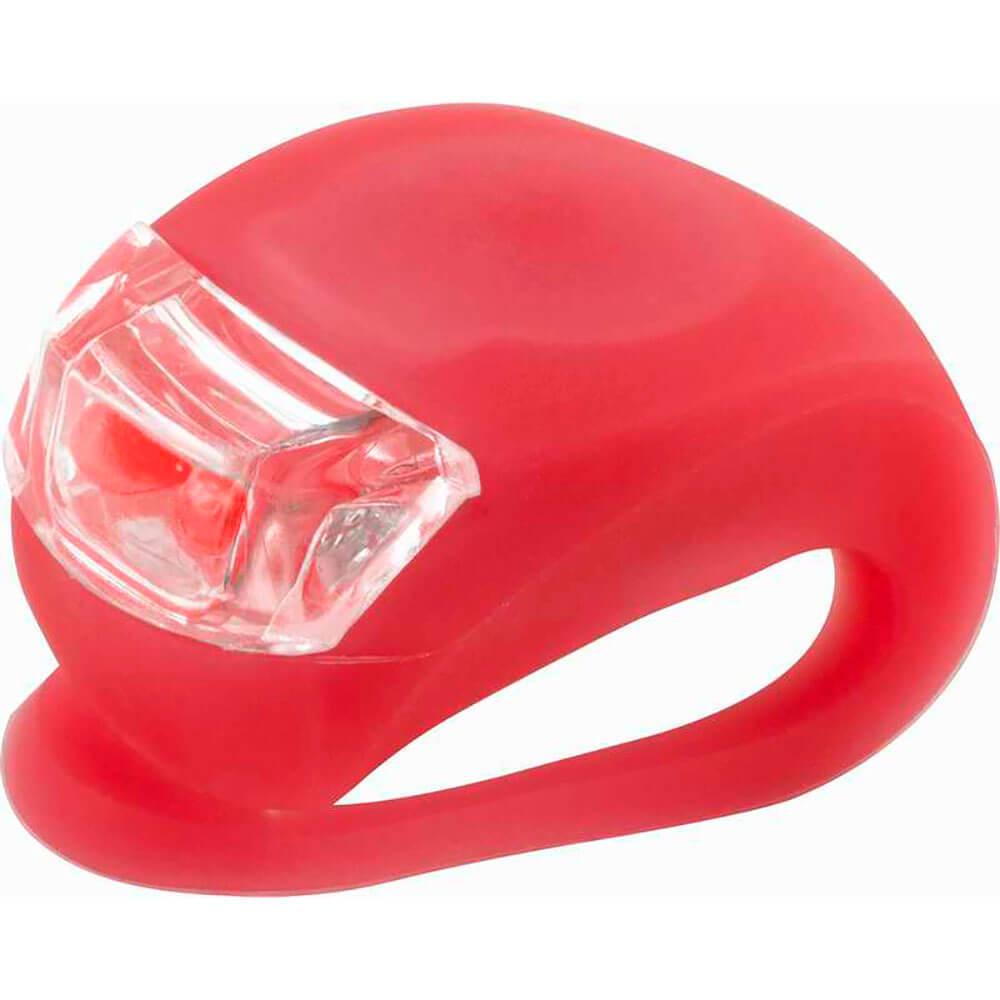 Фонарь велосипедный Ecos красный vel-04 5104