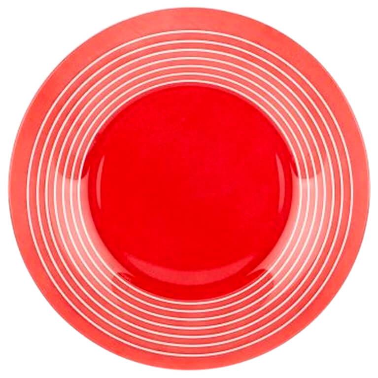 Тарелка десертная 19,5см Luminarc Factory Rouge p3265