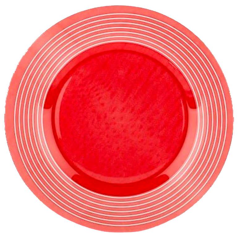 Тарелка обеденная 25см Luminarc Factory Rouge p3285