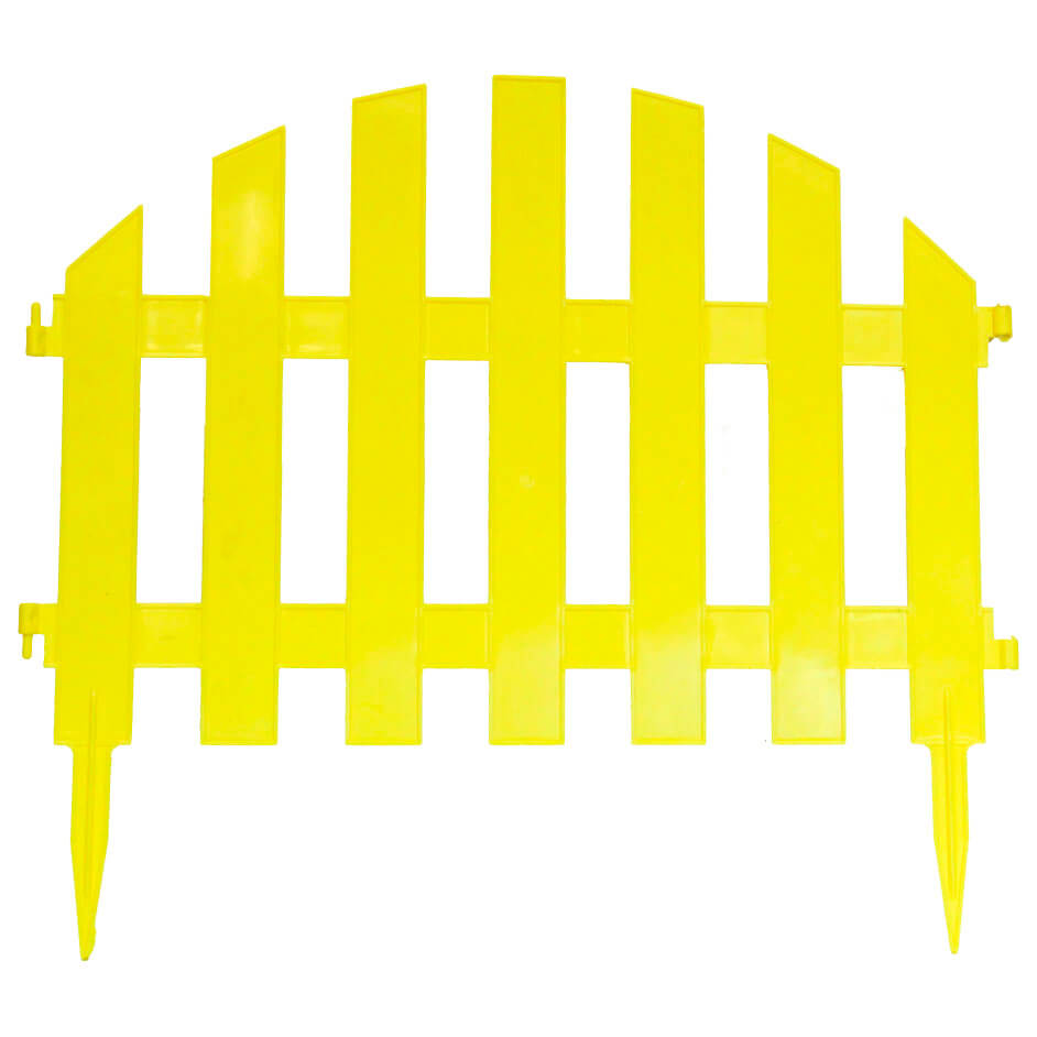 Забор декоративный уютный сад 4шт кострома пласт