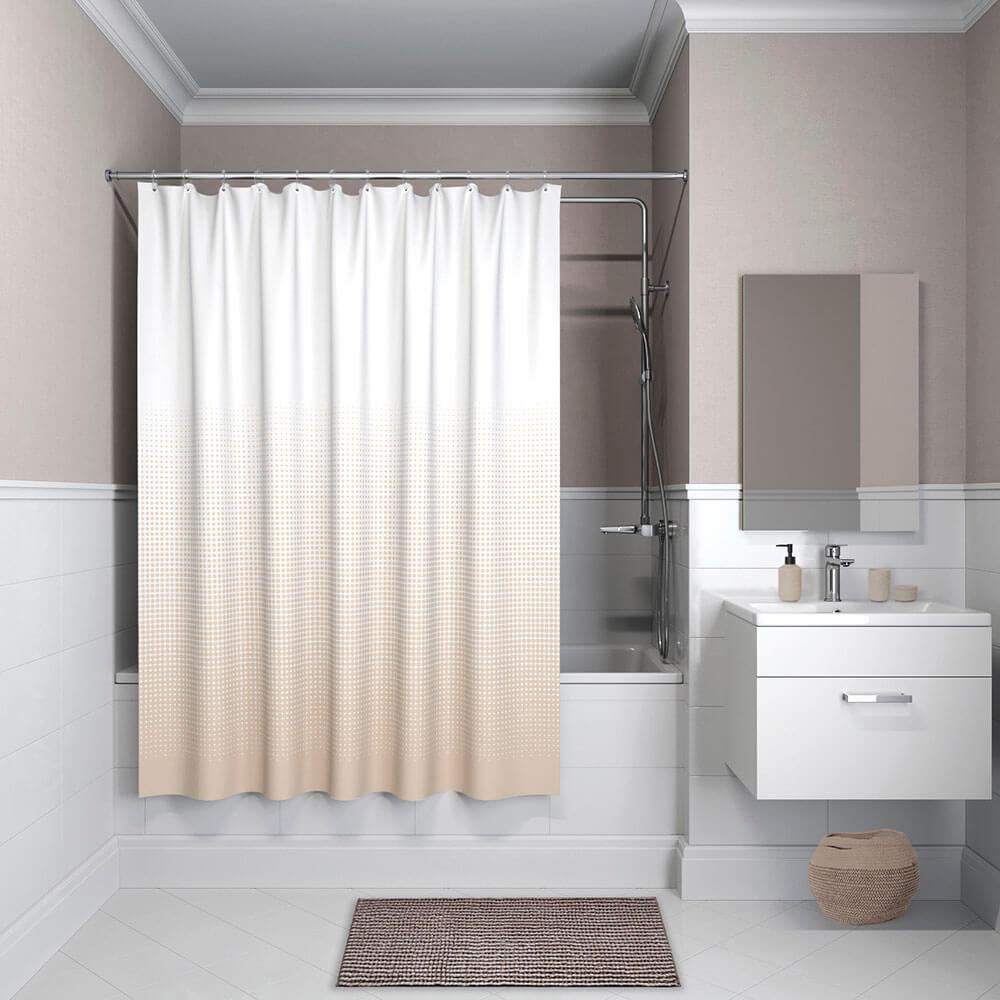 Фото - Штора для ванной комнаты IDDIS 200*180см базовый полиэстер b02p218i11 штора для ванной комнаты iddis basic b19p218i11