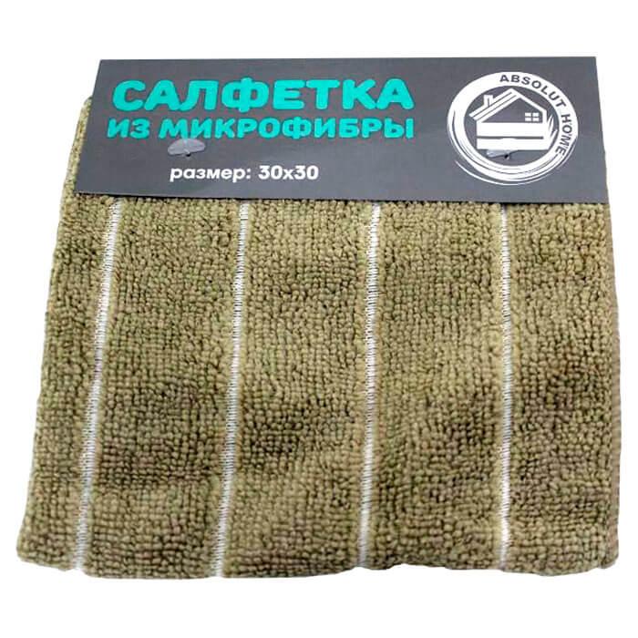Салфетка 30*30см Absolut Home микрофибра terry i.2