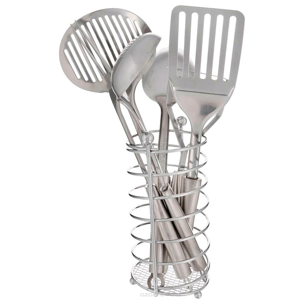 Набор кухонный 7 пр беккер нержавеющая сталь bk-3235