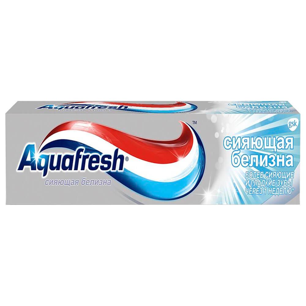 Зубная паста Aquafresh 100мл сияющая белизна