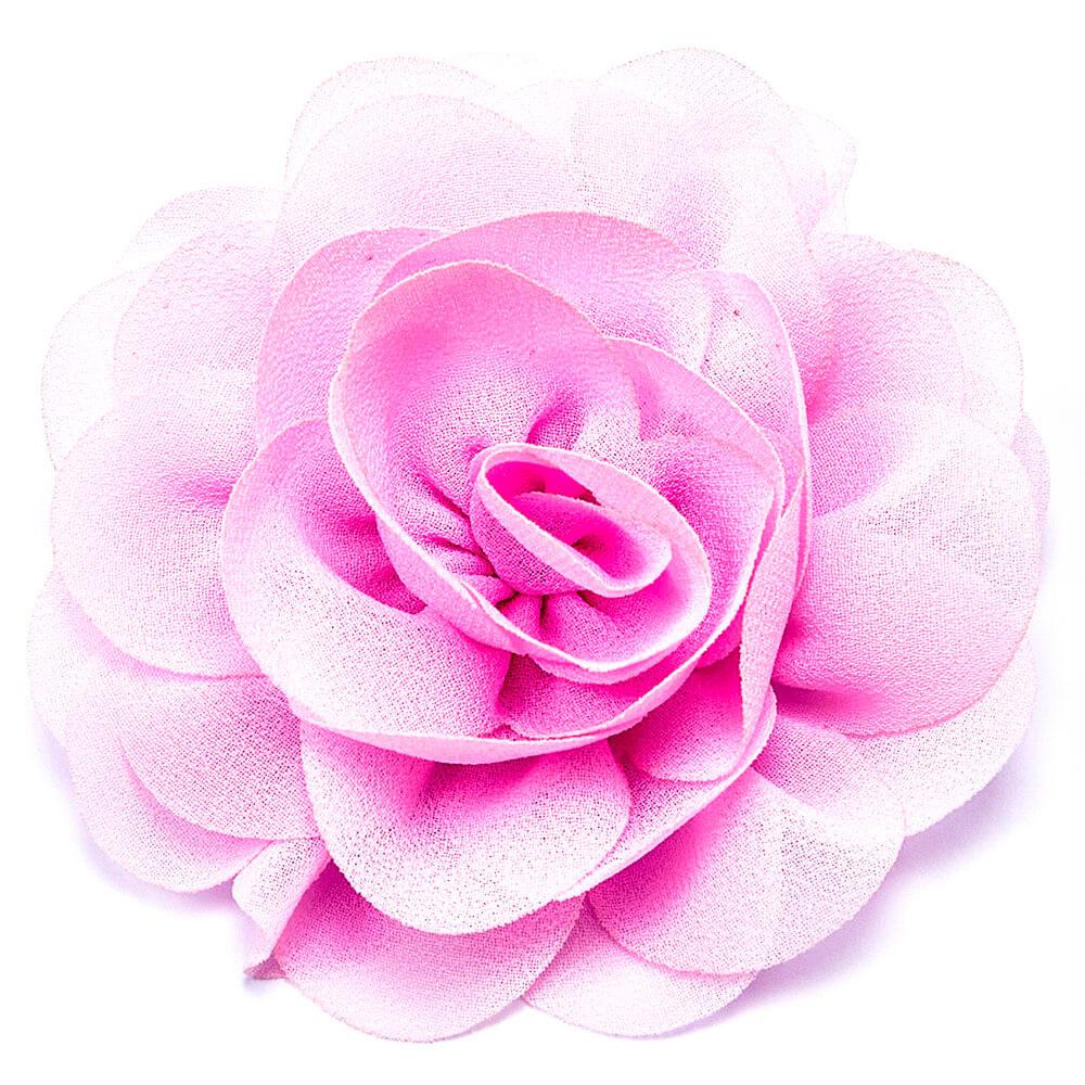Резинка цветок розовый 1110