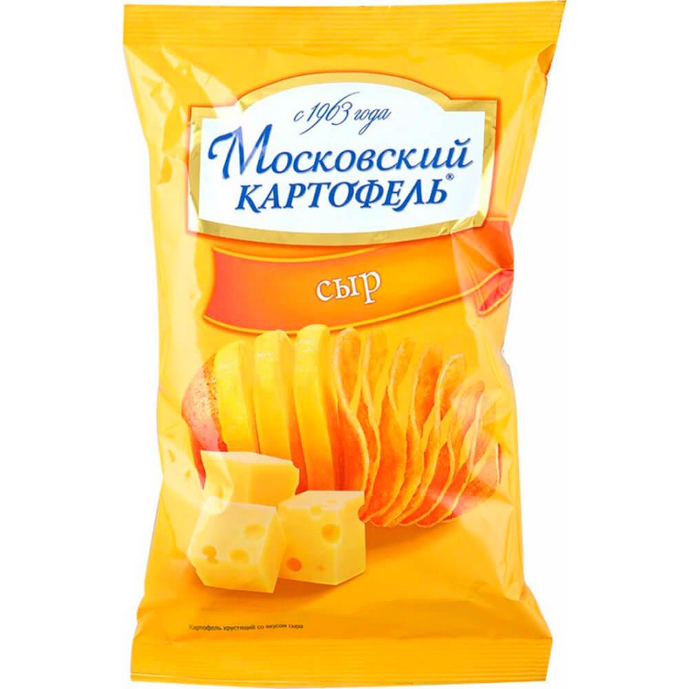 Чипсы Московский картофель 70г с сыром