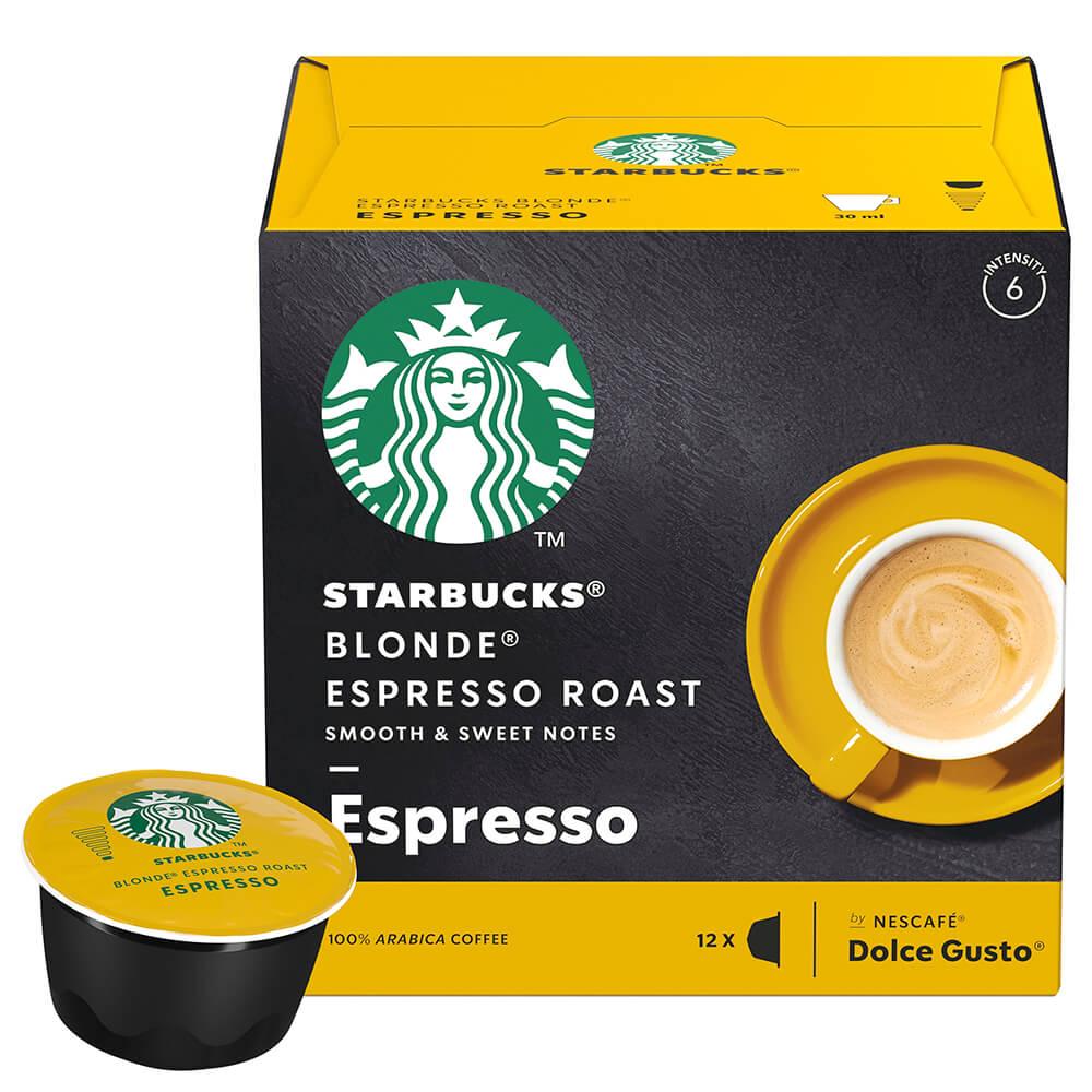 Кофе Starbucks 12 капсул Espresso Dolce Gusto