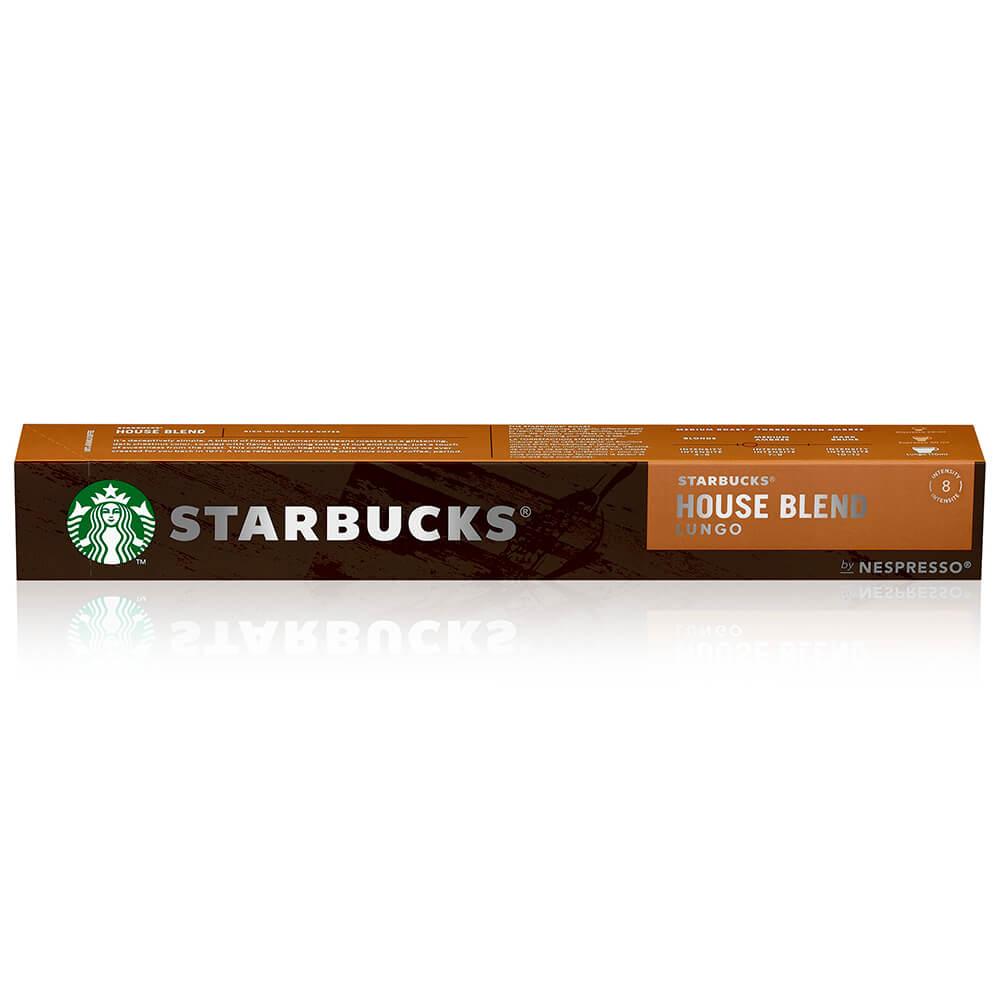 Кофе Starbucks 10 капсул House Blend Nespresso